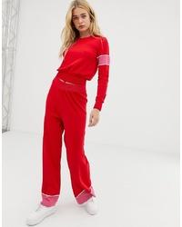 Pantalones anchos rojos de Free People