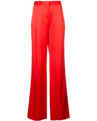 Pantalones anchos rojos de Givenchy