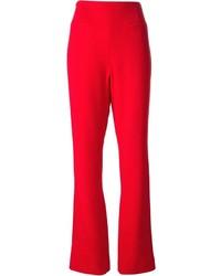 Pantalones anchos rojos de Jean Louis Scherrer