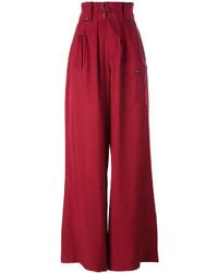 Pantalones anchos rojos de Joseph