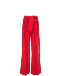 Pantalones anchos rojos de Milly