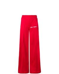 Pantalones anchos rojos de Palm Angels
