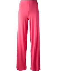 Pantalones anchos rosa