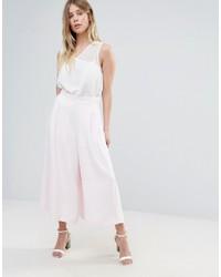 Pantalones anchos rosados de French Connection