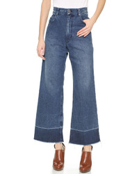 Pantalones anchos vaqueros azul marino de Rachel Comey