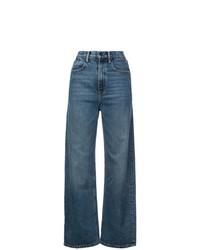 Pantalones anchos vaqueros azules de Alexander Wang