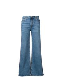 Pantalones anchos vaqueros azules de Etro
