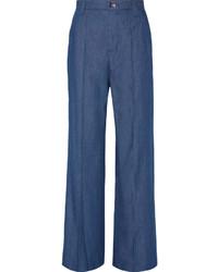 Pantalones anchos vaqueros azules de Marc Jacobs