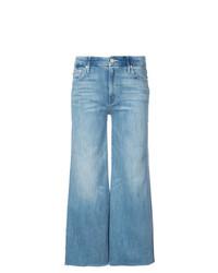 Pantalones anchos vaqueros azules de Mother