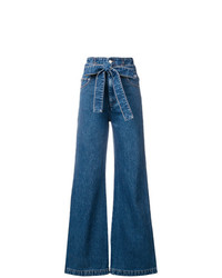Pantalones anchos vaqueros azules de MSGM