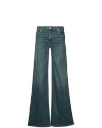 Pantalones anchos vaqueros azules de Nili Lotan