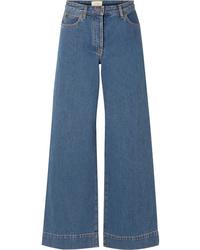 Pantalones anchos vaqueros azules de The Row