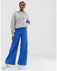 Pantalones anchos vaqueros azules de Weekday