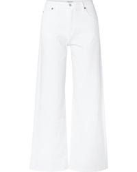 Pantalones anchos vaqueros blancos de Eve Denim
