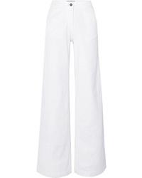 Pantalones anchos vaqueros blancos de Vanessa Bruno