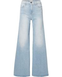 Pantalones anchos vaqueros celestes de Frame