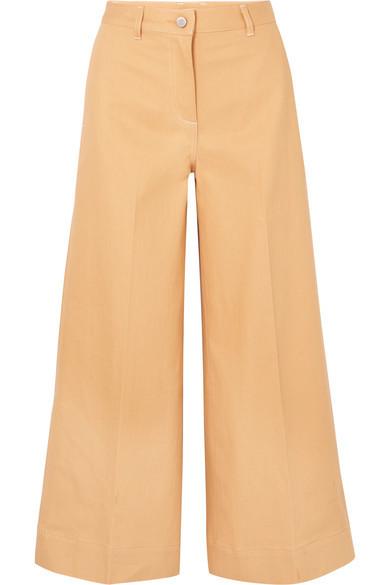 Pantalones anchos vaqueros marrón claro de Elizabeth and James