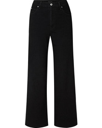 Pantalones anchos vaqueros negros de Eve Denim