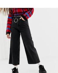 Pantalones anchos vaqueros negros de Reclaimed Vintage