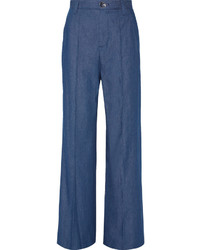 Pantalones anchos vaqueros