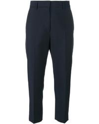 Pantalones azul marino de Jil Sander