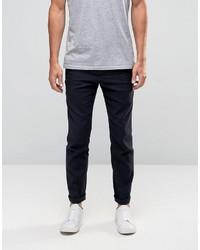 Pantalones azul marino de Minimum