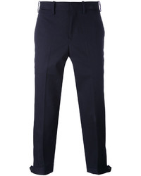 Pantalones azul marino de Neil Barrett
