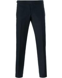 Pantalones azul marino de Thom Browne