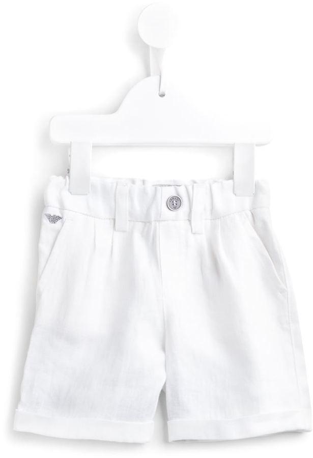 Pantalones blancos de Armani Junior