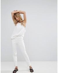 Pantalones blancos de Mango