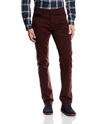 Pantalones Burdeos de Harmont & Blaine