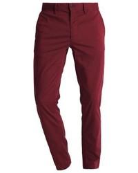Pantalones Burdeos de Hugo Boss