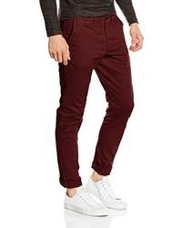 Pantalones Burdeos de Jack & Jones