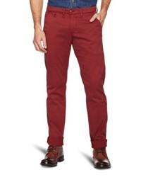 Pantalones Burdeos de Staff