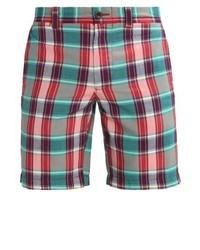 Pantalones cortos a cuadros en verde azulado de J.Crew