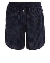 Pantalones Cortos a Lunares Azul Marino de Baum Und Pferdgarten