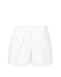 Pantalones cortos a lunares blancos de Jil Sander Navy