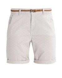 Pantalones cortos a lunares grises de Esprit