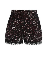 Pantalones Cortos a Lunares Negros de Vero Moda