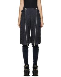 Pantalones Cortos Acolchados Azul Marino de Sacai