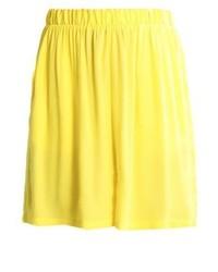 Pantalones Cortos Amarillo Verdoso de Minimum