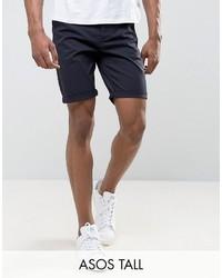 Pantalones cortos azul marino de Asos