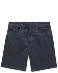 Pantalones cortos azul marino de Balenciaga