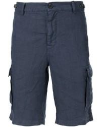 Pantalones cortos azul marino de Brunello Cucinelli