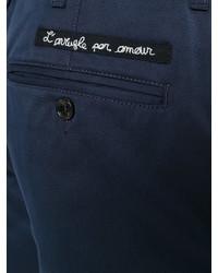 Pantalones cortos azul marino de Gucci