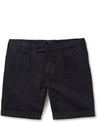 Pantalones cortos azul marino de Incotex