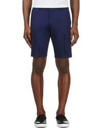 Pantalones cortos azul marino de Moncler