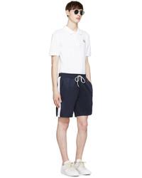Pantalones cortos azul marino de AMI Alexandre Mattiussi