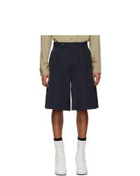 Pantalones cortos azul marino de Random Identities
