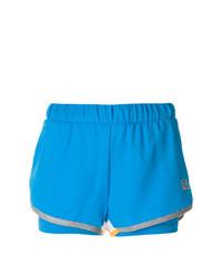 Pantalones Cortos Azules de Ea7 Emporio Armani
